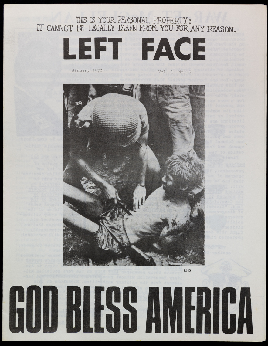 Left-Face-Vol-1-No-5-Jan-1970