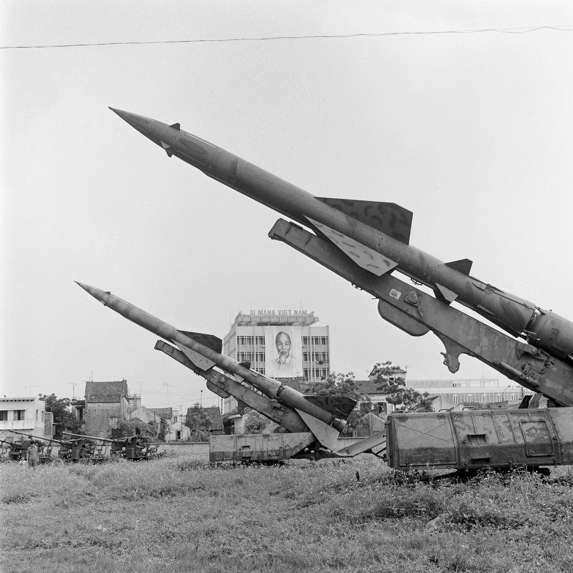 Soviet SAM  Missiles Used to Shoot Down B-52s